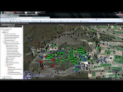 4/3/2013 -- Bayou Corne Louisiana Salt Dome Collapse - Gas rising UNDERNEATH houses