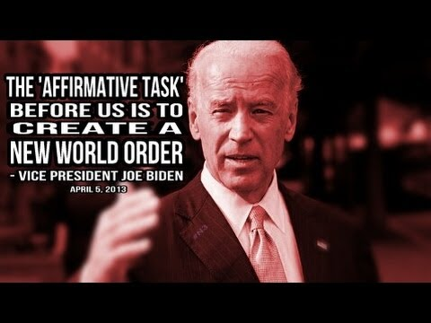 BREAKING: Joe Biden calls to 'create a New World Order'