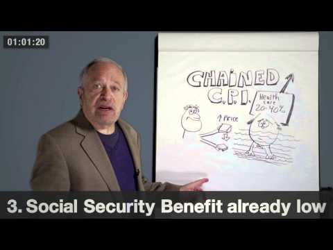 Robert Reich on Chained CPI (the proposal to cut Social Security benefits)