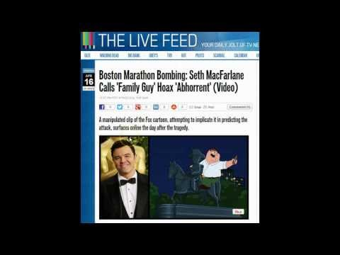 YouTube Censors Family Guy Clip Which Predicted Boston Marathon Attack