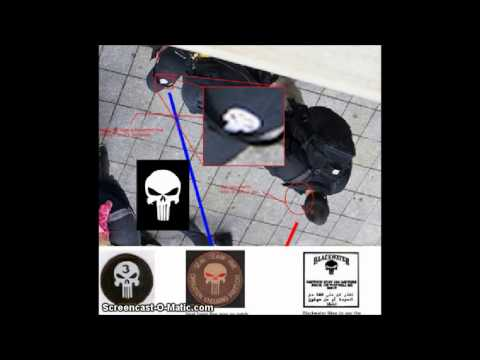 SPECIAL FORCES' IN BOSTON:  Mercenary training company, there before and after explosions