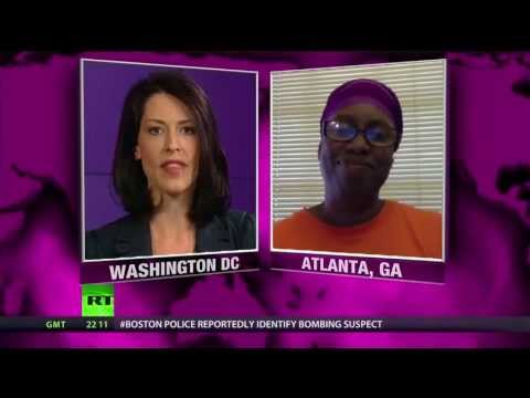 Congresswoman Cynthia McKinney Fights the System