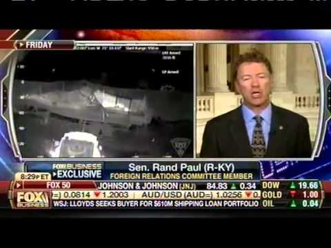 Rand Paul Thinks It's OK To Kill U.S. Citizens With Drones On American Soil