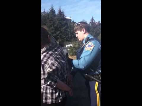Young woman assaulted and arrested for standing for her right by Alaska State Trooper