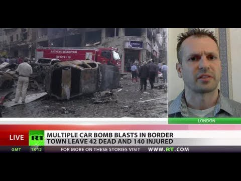 Turkey claims Syrian intelligence behind bombing on border false flag bs
