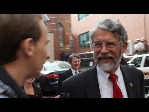 Obama's Science Czar John P. Holdren Confronted on Population Control