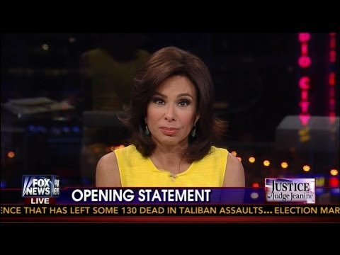 "Judge Jeanine ""Fact Blasts"" Hillary & Obama Administration on Benghazi Attack - 5-11-13"