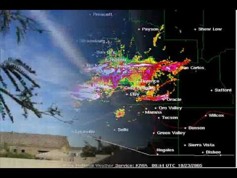 Chemtrail Spray Operations Captured on Doppler Radar