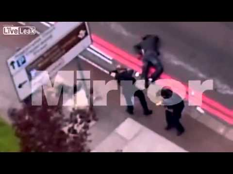 Woolwich Killers Being Shot by Police