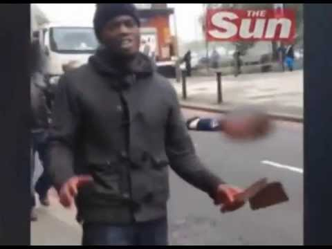 The full uncensored version of the Woolwich murder interview.