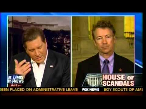 House Of Scandals  Obama Gives Speech To Distract Americans - Rand Paul (R-KY)- Hannity