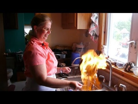 Water on Fire - Marcellus Shale Reality Tour Part 1 - Fracking