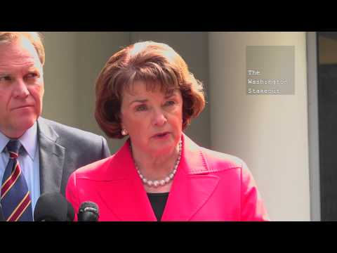 Feinstein & Rogers Walk Away from Questioning on 4th Amendment After Roger's False Statement Corrected