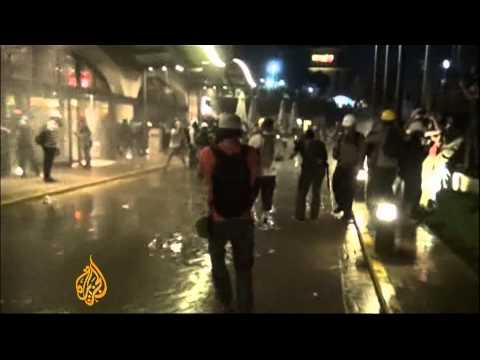 Turkish Protests Continue Through Haze of Tear Gas, Confused Screams and Trampled Tents - VIDEO