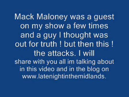 Mack Maloney (Truth for Hire) from truth to company man