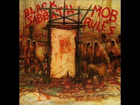 Black Sabbath - The Mob Rules (With Lyrics)