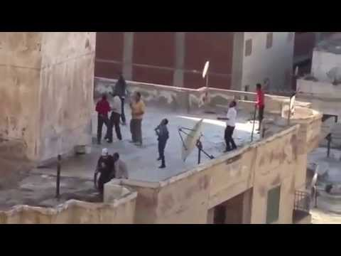 Egypt: al-Qaeda Pro-Morsi supporters throw men off buildings