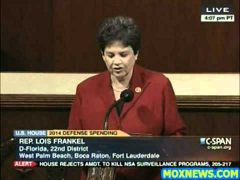 """""""ISRAEL'S SECURITY IS OUR SECURITY!"""" Congresswoman Frankel"""