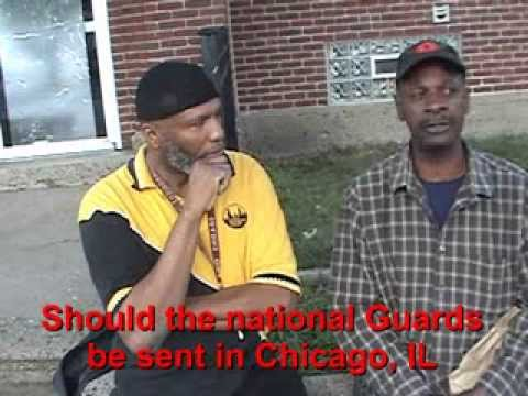 Should the Natinol Guards be come Chicago , New York , Mississipi, and California  to stop crime ?