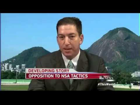Glenn Greenwald Mocks 'Robust Oversight' Of NSA Spying On ABC This Week 8/04/13