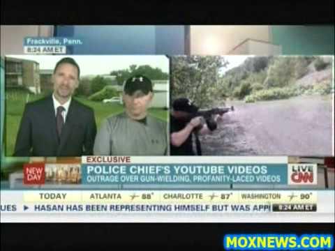 Police Chief Mark Kessler Explains Profane Youtube Rants Involving FULLY AUTOMATIC Machine Guns