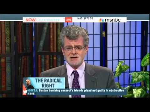 MSNBC's Now Parodies Itself With Tortured Claim Boston Bombers Were Right Wing