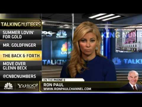 Ron Paul: Why Gold Will Explode Higher - CNBC 8/15/2013