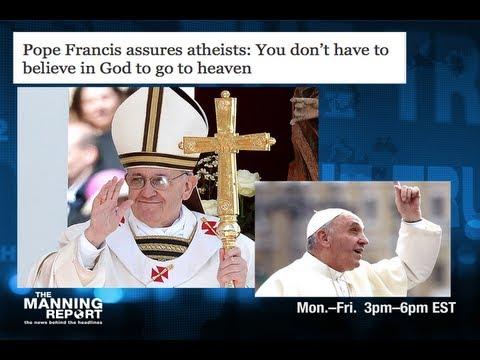 Pope Francis Blasphemes