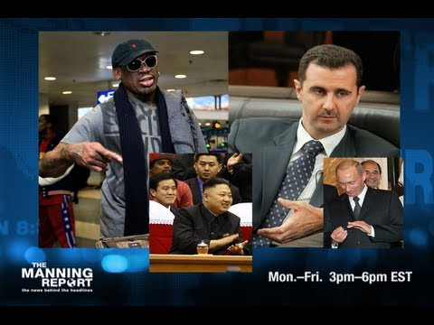 Dennis Rodman Is Obama's New Chemical Weapons Inspector