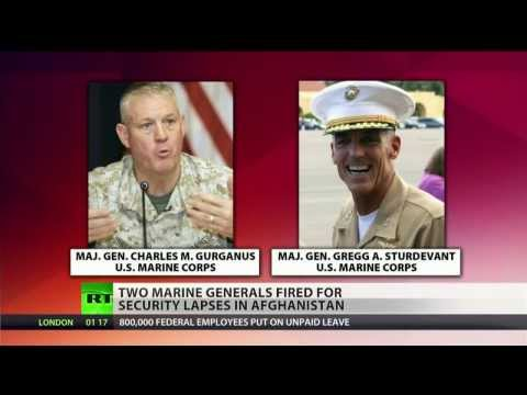 Two Marine generals fired for failure to defend, protect in Afghanistan