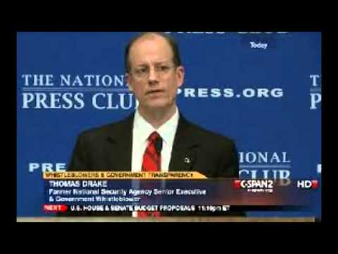 ex-NSA officer Thomas Drake questions official account of 9/11