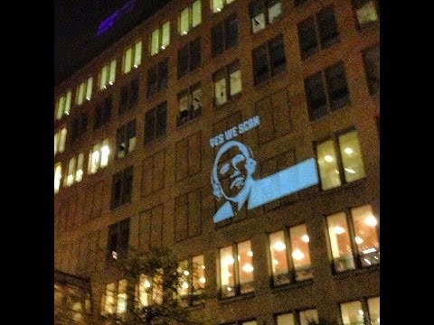 Public Projection of the NSA's least favorite video