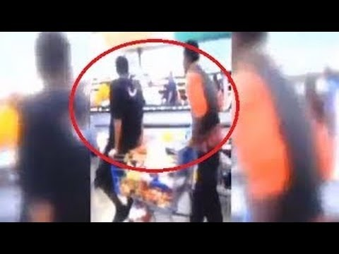 [RAW] Walmart Shelves Emptied in Food Stamp Shopping Spree