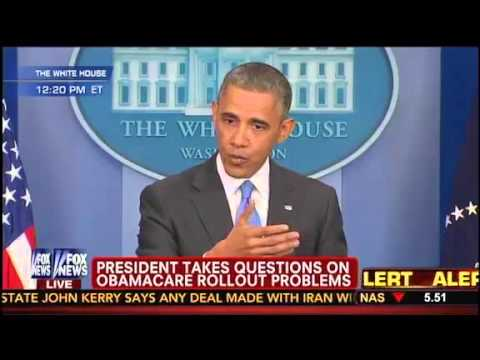 Obama Confronted By Major Garrett On Broken Keep Your Plan Promises. Do You Regret It