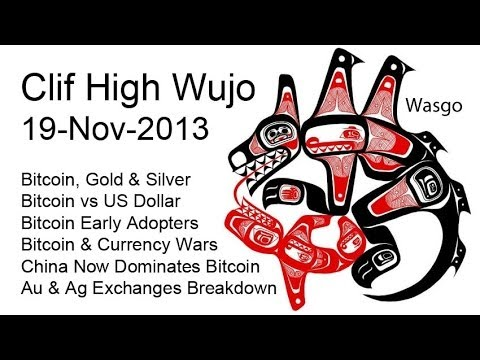 Clif High Wujo, China Now Dominates Bitcoin, TPTB Gold & Silver Controls Total Breakdown [11/19/13]