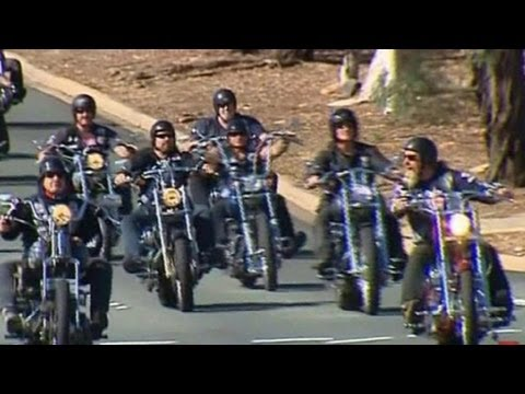 New anti-bikie laws 'world's toughest'