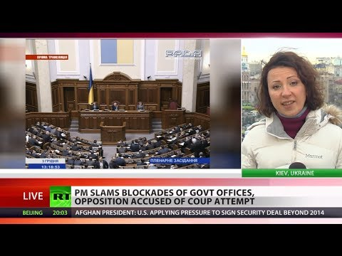 Ukraine govt survives 'no confidence' vote amid mass protests