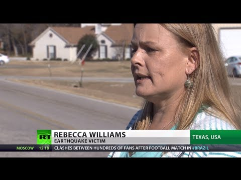 'Is today the day?' Texans live in fear of fracking quakes