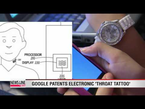 "Google patents electronic ""throat tattoo"""
