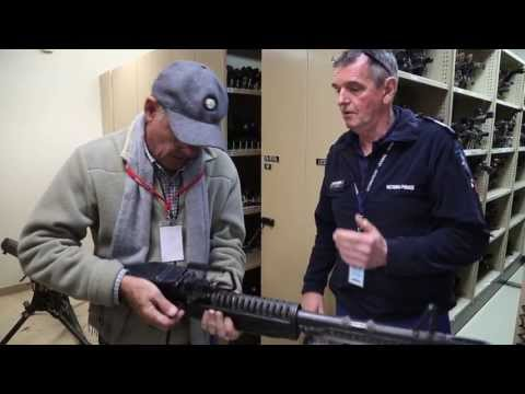 Ross and John visit the Victoria Police Forensics Centre