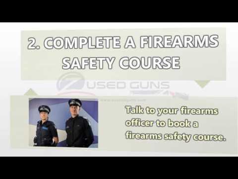 Guide for a Gun Licence in Victoria, Australia