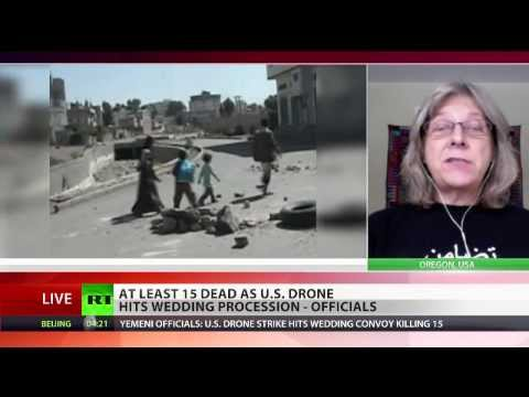 Drone strike kills 15 wedding-goers instead of Al-Qaeda convoy in Yemen