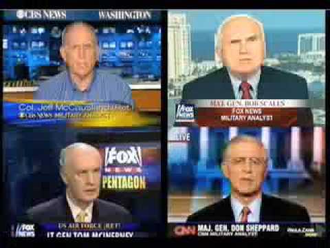 Mind Control CAUGHT Pentagon scripted TV News Interviews