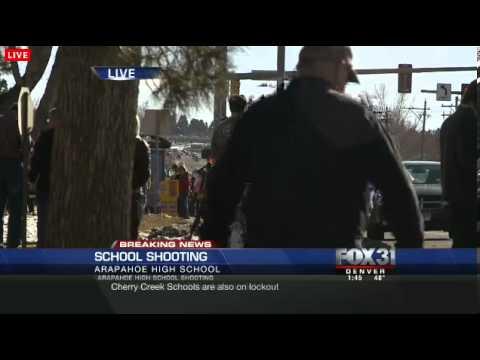 Colorado School Shooting at Arapahoe High School in Centennial, Colorado