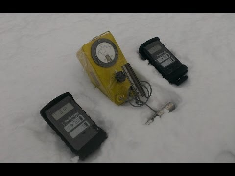 12/14/2013 -- ☢ HIGH LEVELS of Radiation ☢ 81.4CPM in the Snow - St. Louis, Missouri