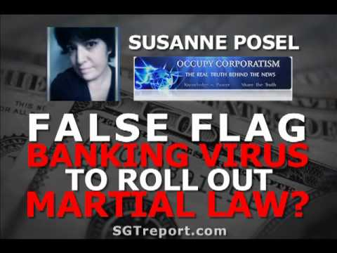 False Flag Computer BANKING VIRUS to Roll Out Martial Law? Susanne Posel [1 of 2]