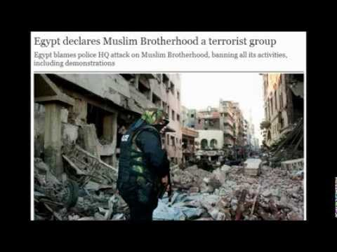 Egypt declares Muslim Brotherhood a terrorist group. 12/25/2013