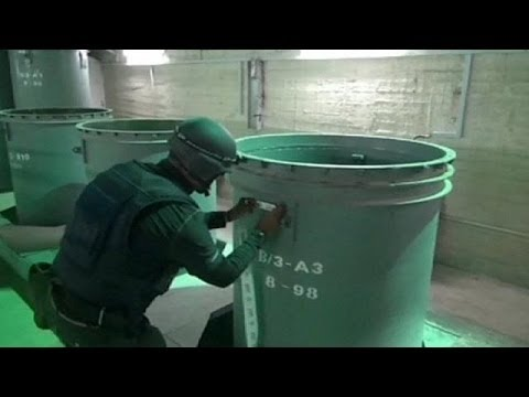 Mission to destroy Syria chemical weapons underway