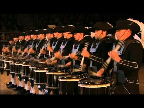Top Secret Drum Corps - Edinburgh Military Tattoo 2012 - 720p HD