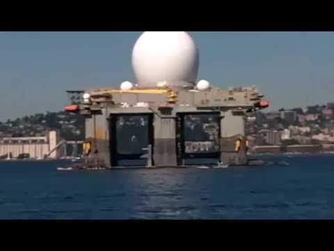 US Navy Deploying HAARP Tesla Weapon Platform SBX-1 to Hit North Korea with Earthquakes (HD)